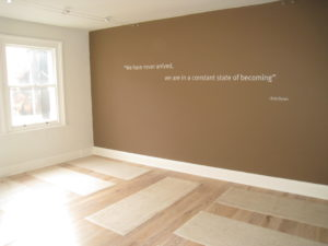 All new GC Yoga Studios in association with Anoushka's Yoga Gina Conway Aveda Salons and Spas