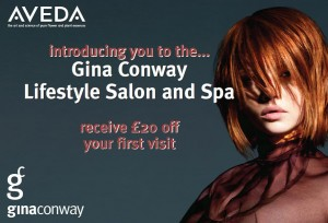 Attention New Guests Gina Conway Aveda Salons and Spas