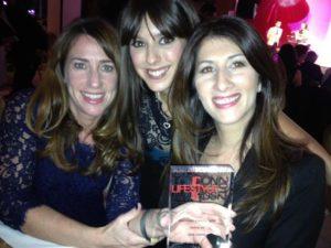 London Lifestyle Awards 2012 Gina Conway Aveda Salons and Spas