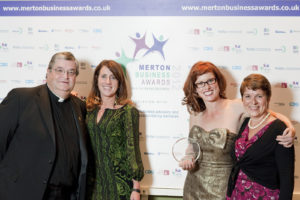 Winners of 'Best Business for Customer Service 2012' Gina Conway Aveda Salons and Spas