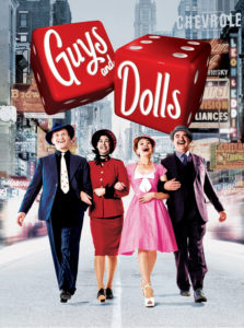 Win a pair of tickets to Guys and Dolls in the West End Gina Conway Aveda Salons and Spas