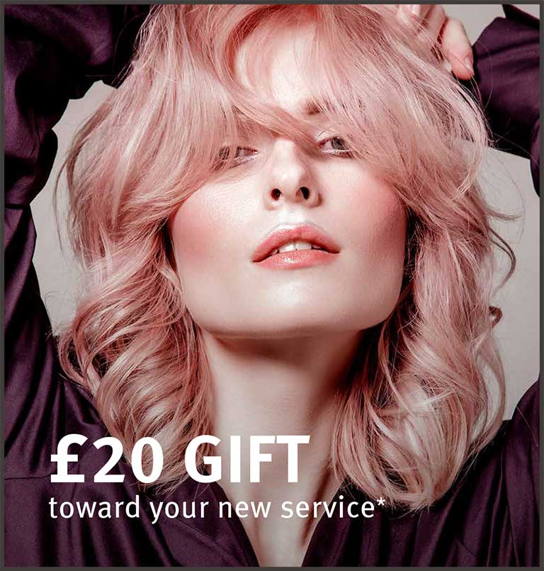£20 gift toward your first service*