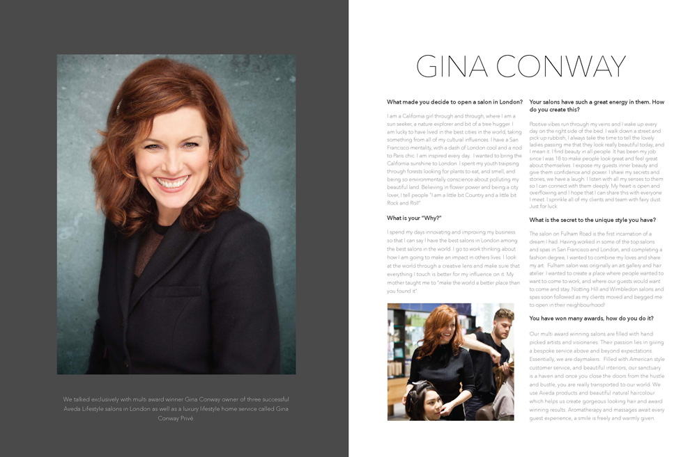 Gina Conway Icons Interview